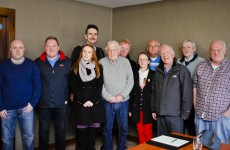 Vita Cortex workers meet with Noam Chomsky in Cork