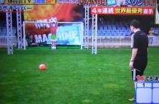 VIDEO: Lionel Messi meets his match… a Japanese robot goalkeeper