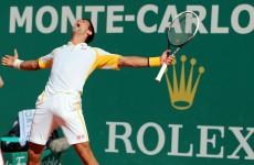 Looks like Novak Djokovic enjoyed beating Rafa Nadal in Monte Carlo