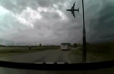 VIDEO: Last moments of US cargo plane before devastating crash