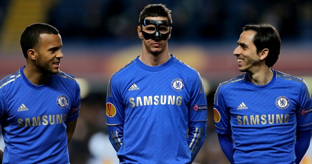 Whatever the joke was at Stamford Bridge, Fernando Torres did not find it funny