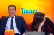 Morning show presenter pulls a real life Anchorman on his co-host