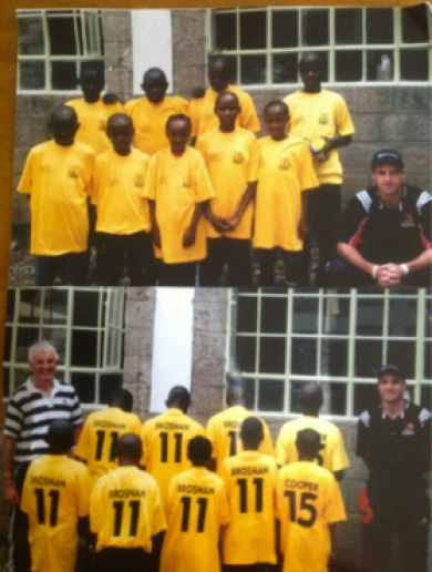 African school kids support Kerry's Colm Cooper and Eoin Brosnan