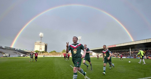 Quite simply the most picturesque League of Ireland photo we've ever seen