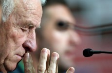 Irish players must stay calm tomorrow night – Trapattoni