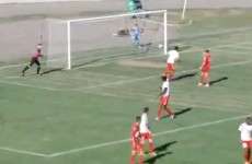 One of the worst — or possibly best — own goals you'll ever see