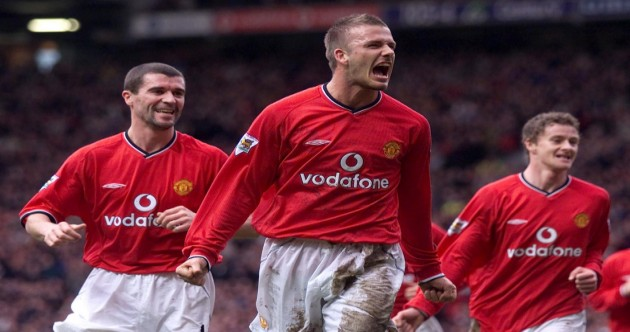 David Beckham's biggest moments in football
