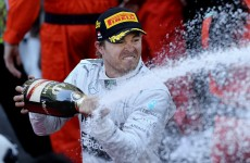 Like father, like son as Nico Rosberg wins Monaco Grand Prix
