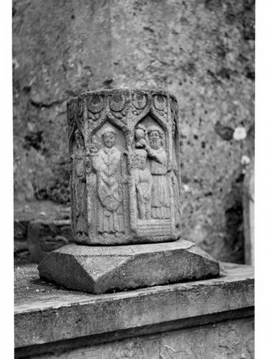 Stolen medieval font returned to Meath church