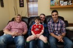 3 Irish families had the British and Irish Lions over for dinner last night