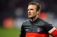 Bye bye Becks… England midfielder announces retirement from football