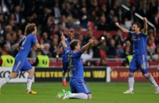 Last-minute goal earns Chelsea victory in the Europa League final