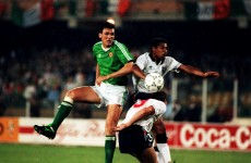 Retro minute-by-minute: Ireland v England, Italia '90, as it happened
