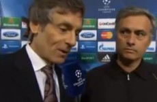 ITV say they had to cut Jose Mourinho's interview last night