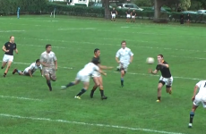 BOOM! The hardest schoolboy rugby hit you ever want to see