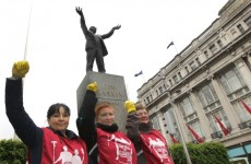 Cleaners take to Dublin streets for their international day