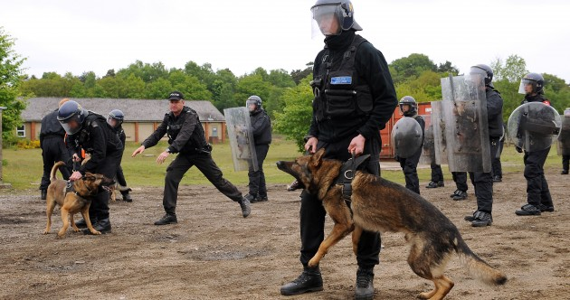 PHOTOS: PSNI undergo riot training ahead of G8 summit